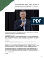 Lanacion.com.Ar-8M en El Día Internacional de La Mujer Macri Anunció El Envío Al Congreso Del Proyecto Para Igualar l