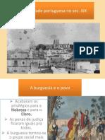 A Sociedade Portuguesa No Séc