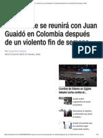 Mike Pence Se Reunirá Con Juan Guaidó en Colombia Después de Un Violento Fin de Semana _ CNN