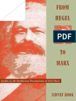Sidney Hook - From Hegel to Marx. Studies in the intellectual development of Karl Marx (1962, University of Michigan Press).pdf