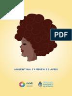 Argentina Tambien Es Afro