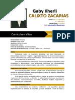 Cv Calixto Zacarias Gaby Kherli