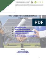 Tema 4_Diseño y Calculo de Los Sistemas Fotovoltaicos