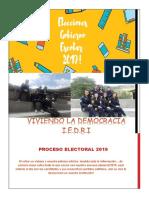 Periodico Viviendo La Democracia IEDRI LA CALERA 2019 EDIC 01
