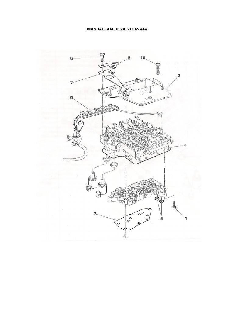 Manual Caja de Valvula Al4