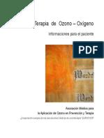 Terapia de Ozono - Informacion Para Pacientes