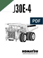 Komatsu 930E-4 Parts Manual
