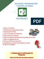 Sesión 01 - Planificación Programación y Control de Obras