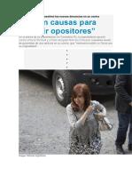 Cristina Kirchner desestimó las nuevas denuncias en su contra.docx