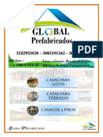 CATALOGO, Grande (28 Paginas) 205.000$m2 Global Prefabricados