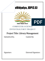 Nithin U=Library Management System