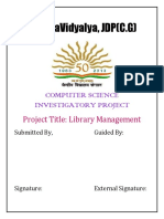 Library Management System- Rudrahari