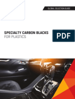 Selection Guide Specialty Carbon Blacks for Plastics