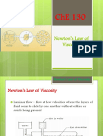 Newtons Law of Viscosity Chapter 1 BSL