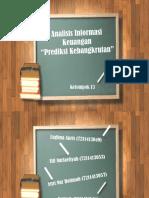 prediksi kebangkrutan, analisis informasi keuangan