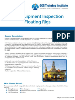 Rig Equipment Inspection Floating