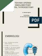 Tekhnik Operasi Thyroid