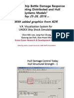 Advancing Ship Battle Damage Response by Integrating Distributed and Hull Systems Models.ppt