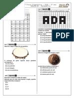 2ª P.D - 2018 (2ª ADA - 1ª Etapa - Ciclo II) - Mat. 5º Ano - BPW