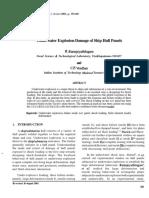 Underwater Explosion Damage of Ship Hull Panels.pdf