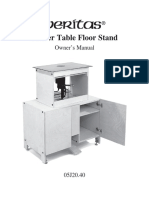 Veritas Router Table Assembly Instructions