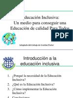 UNIDAD 1. LECT. 1. Gordon Porter (Adap) Educacion_Inclusiva