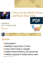 Long Term Using Mobile Phone and Brain Tumor Risk
