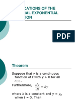 Application of Nat Exponential