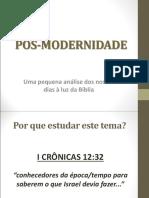 6-Pós-modernidade