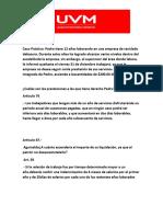 Derecho Laboral Proyecto