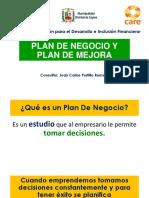 Plan de Negocio y Mejora