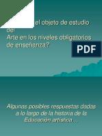 Modelos Pedagógicos en La Enseñanza de Las Artes Para La Capacitación en San Miguel