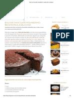 Bolo de Chocolate Molhadinho_ Receita Fácil e Deliciosa