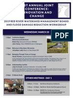 RRWMB Conference Agenda - Final Version February 13, 2019