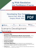 Developing Your Scenario