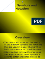 Music Symbols and Notation Presentation