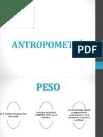 Antropometría Pesoy Talla