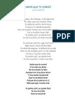 7.-Letra Maria Bonita