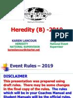 1-19 HEREDITY(B)