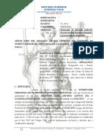 Demanda de Filiación Extramatrimonial Mariscala Teresa Santos Peña