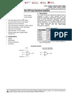Datasheet TL084