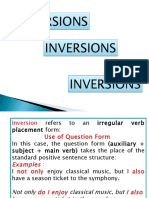 inversions-in-English
