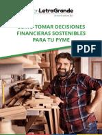 Guia PYME de Decisiones Financieras Sostenibles Con Letra Grande