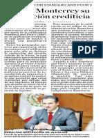 25-02-19 Mejora Monterrey su calificación crediticia