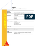 Sika Material Properties (Sealant)