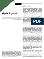 Milstein Diana - El grito de justicia
