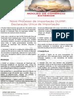 Folder Duimp - Processo de Importação