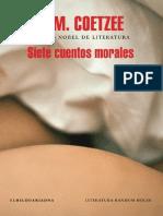 Siete Cuentos Morales- J. M. Coetzee