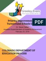Priority Improvement Schools Update 2.25.19