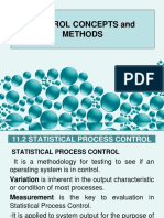 Control Concepts and Methods